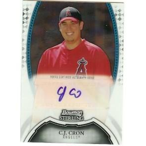 2011 Bowman Sterling C.J. Cron Autograph