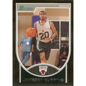 2007-08 Bowman Jameson Curry Rookie 1792/2999