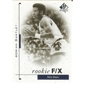 2011-12 SP Authentic Adrian Dantley Rookie F/X SP