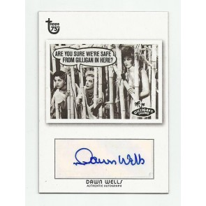2013 Topps 75th Anniversary Dawn Wells Autograph