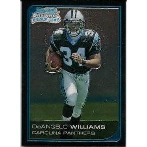 2006 Bowman Chrome DeAngelo Williams Rookie
