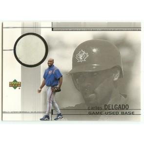 2001 Upper Deck Carlos Delgado Game Used Memorabilia