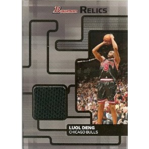2007-08 Bowman Draft Picks & Stars Luol Deng Bowman Relics