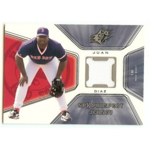 2001 Upper Deck SPX Juan Diaz SPX Prospect Jersey