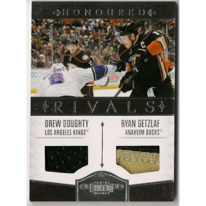 2010-11 Panini Dominion Drew Doughty Honoured Rivals Dual Patch 2 color 40/49 w/Ryan Getzlaf