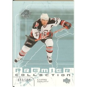 2003-04 Upper Deck Premier Chris Drury Base Single 023/399