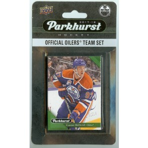 2017-18 Parkhurst Edmonton Oilers Team Set 10 Card Set