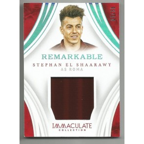 2017 Panini Immaculate STEPHAN EL SHAARAWY Remarkable Memorabilia 07/35 AS ROMA
