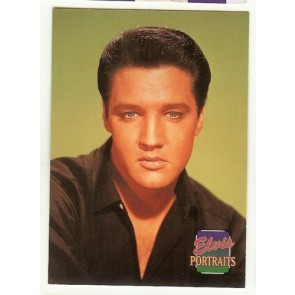 1992 THE ELVIS COLLECTION ELVIS PRESLEY PORTRAITS CARD #353