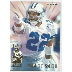 1994 Fleer Emmitt Smith League Leaders #7 Dallas Cowboys