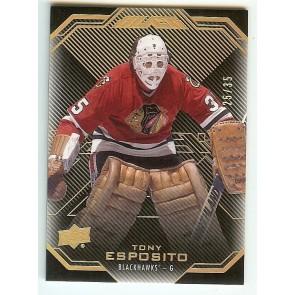 2016-17 UD BLACK BASE GOLD TONY ESPOSITO # 39 25/35