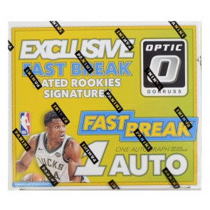 2017-18 Panini Donruss Optic Fast Break Basketball Box