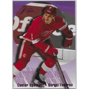 1994-95 Flair Center Spotlight #2 Sergei Fedorov