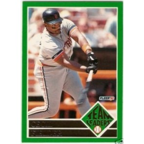 1992 Fleer Cecil Fielder Team Leaders SP
