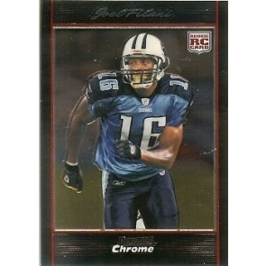 2007 Bowman Chrome Joel Filani Rookie