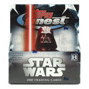 2018 Topps Finest Star Wars Factor Sealed Box