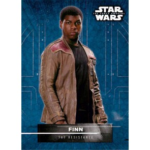 2016 Star Wars The Force Awakens Series 2 Character Stickers #1 FINN