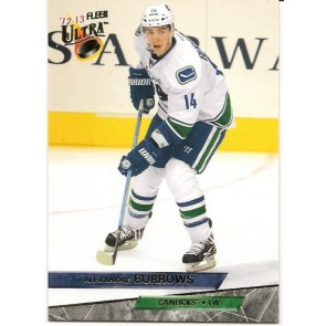 2012-13 UD Fleer Retro '93 Ultra Variation Alexandre Burrows