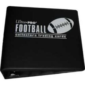 Ultra Pro 3' Football Binder Black