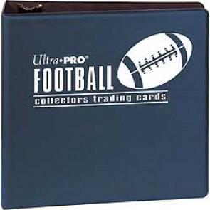 Ultra Pro 3' Football Binder Blue