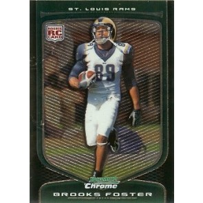 2009 Bowman Chrome Brooks Foster Rookie