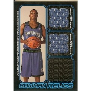 2006-07 Bowman Draft Picks & Stars Randy Foye Bowman Relics 131/249