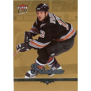 2004-05 Fleer Ultra Jeff Friesen Gold Medallion