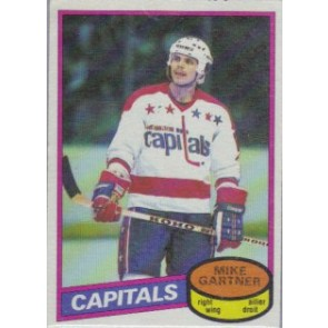 1980-81 O-Pee-Chee Mike Gartner Rookie Card