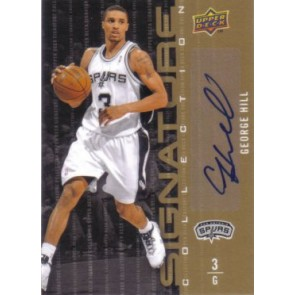 2009-10 Upper Deck George Hill Signature Collection