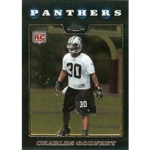2008 Topps Chrome Charles Godfrey Rookie