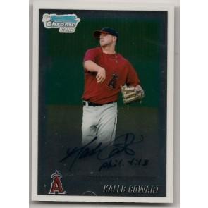 2010 Bowman Chrome Kaleb Cowart Autograph Rookie