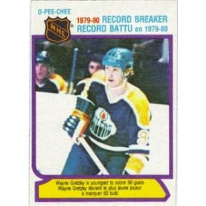 1980-81 O-Pee-Chee Wayne Gretzky Record Breaker