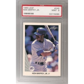 1990 Leaf Ken Griffey Jr. PSA 9