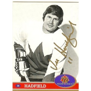 1991-92 Hockey Canada Future Trends Experience Vic Hadfield Hockey Canada '72 Auto