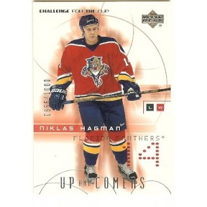 2002-03 Upper Deck Challenge for the Cup Niklas Hagman Up and Comers 0655/1000