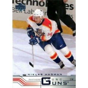 2001-02 Upper Deck Niklas Hagman Young Guns