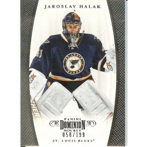 2011-12 Panini Dominion Jaroslav Halak Base Single 058/199