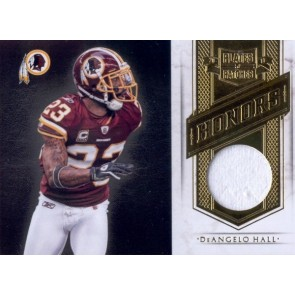 2011 Panini Plates & Patches DeAngelo Hall Honors Game Jersey Memorabilia 085/199