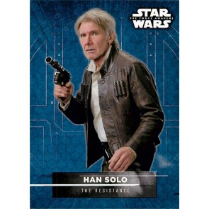 2016 Star Wars The Force Awakens Series Two Character Stickers Han Solo