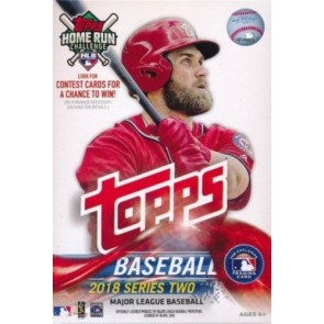 2018 Topps Series 2 Baseball Hanger Box Box 72 Cards