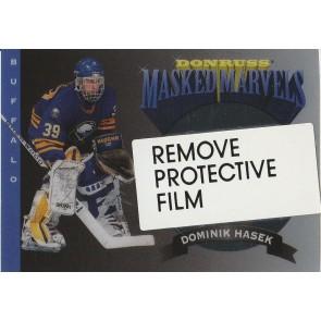 1994-95 Donruss Masked Marvels #3 Dominik Hasek