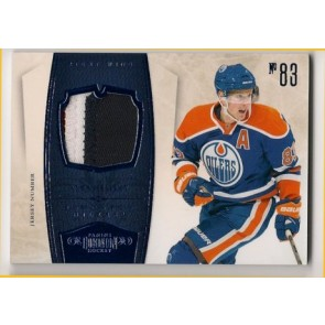 2010-11 Panini Dominion Ales Hemsky Jersey Number Patch 3 color 20/25