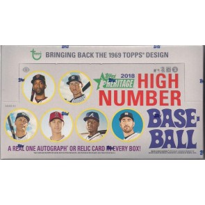 2018 Topps Heritage High Number Hobby Baseball Box