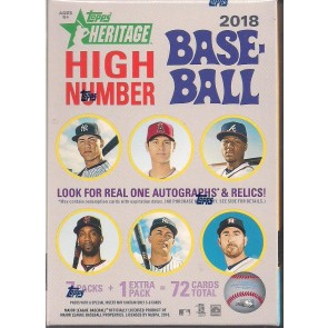 2018 Topps Heritage High Number Baseball Factory Sealed Blaster