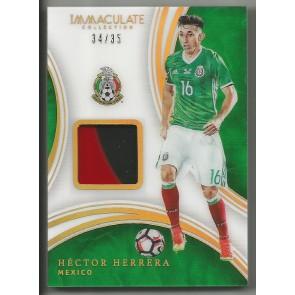 2017 Panini Immaculate HECTOR HERRERA Acetate Memorabilia #'d 34/35 MEXICO