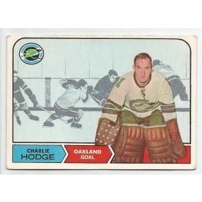 1968-69 O-Pee-Chee Set Break  Card #78  CHARLIE HODGE  Oakland