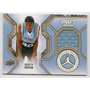 2009-10 Upper Deck Scotty Hopson Jordan Brand Classic Game Jersey