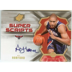 2007-08 Upper Deck SPX Al Horford Super Script