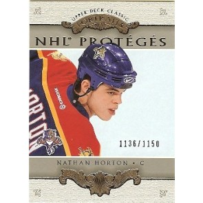 2002-03 Upper Deck Portraits Nathan Horton Rookie 1136/1150