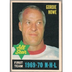 1970-71 O-Pee-Chee Gordie Howe All-Star 1 Single